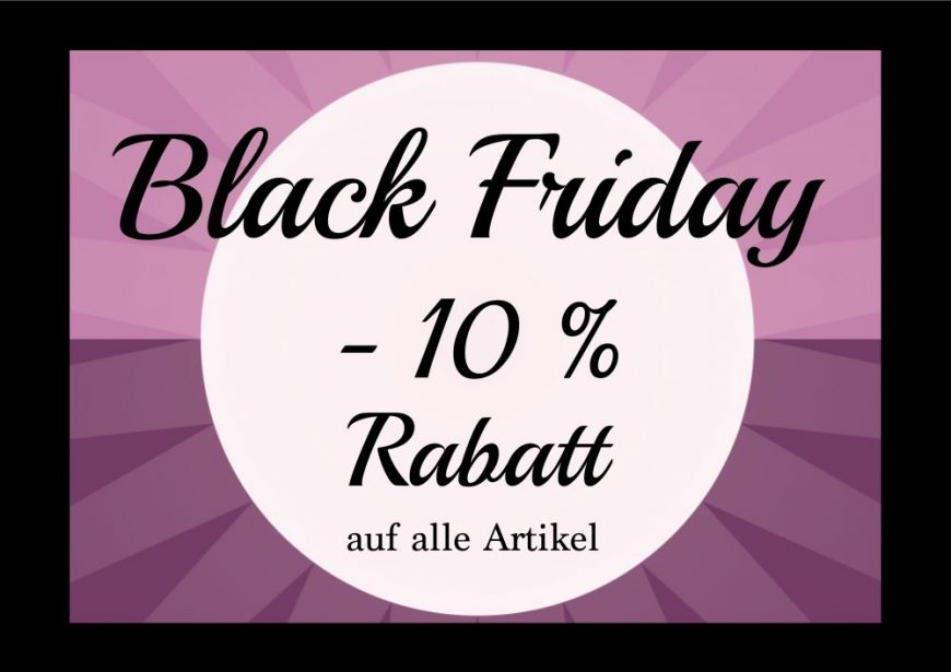 Black Friday bei Schnittverhext