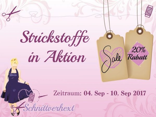 Strickstoff Aktion