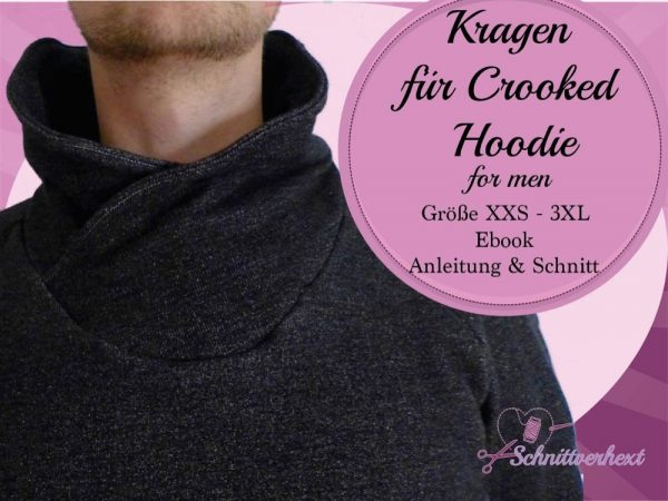 Crooked Hoodie for men Kragen