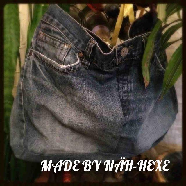 DIY Jeans-Upcycling #5: Noch eine Jeans-Tasche