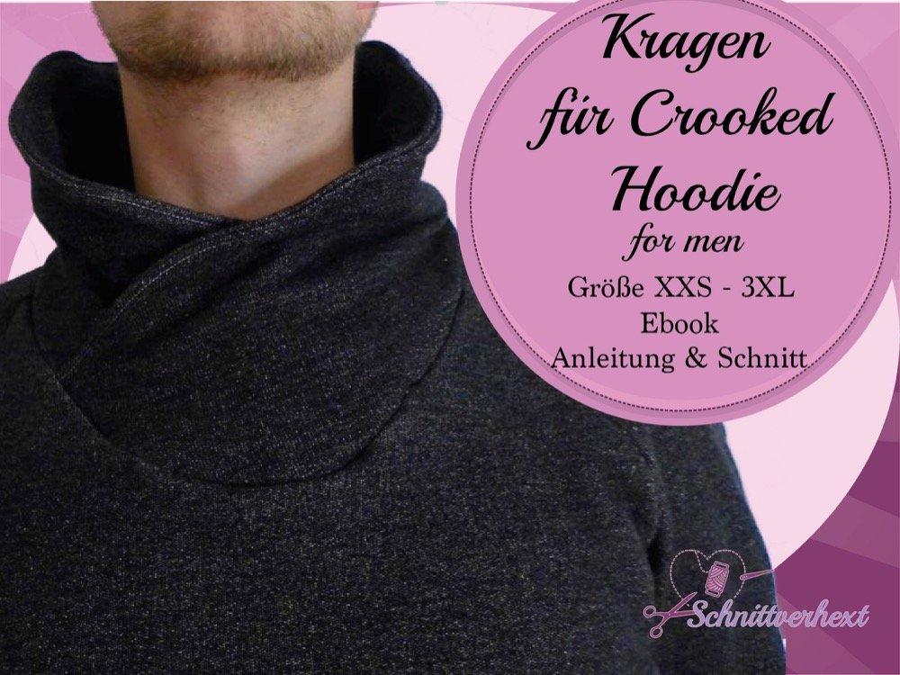 Kragenerweiterung für den Crooked Hoodie for men
